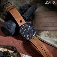 Bekijk de deal van Watch2day.nl: AVI-8 Hawker Hunter AV-4010-03