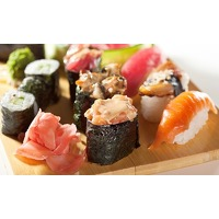 Bekijk de deal van Groupon: All-you-can-eat sushi + grill