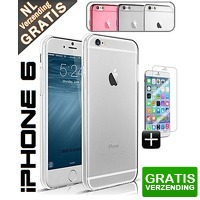 Bekijk de deal van Mob-Com: iPhone TPU case + screenguard