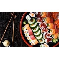 Bekijk de deal van Groupon: Take-away sushiboxen Den Bosch