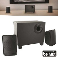 Bekijk de deal van Pricestunter.nl: Be MIX subwoofer met 2 speakers