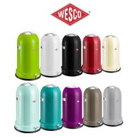 Bekijk de deal van One Day Only: Wesco Kickmaster Classic Soft prullenbak
