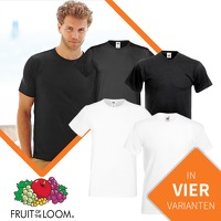 Bekijk de deal van Euroknaller.nl: 12 x Fruit Of The Loom T-shirts