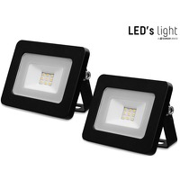 Bekijk de deal van iBOOD DIY: 2 x LED's Light LED floodlight