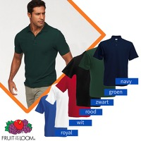 Bekijk de deal van Euroknaller.nl: Fruit of the Loom polo's