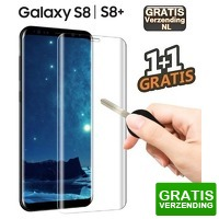 Bekijk de deal van KoopjeNU: 2 x Samsung S8/S8+ tempered glass screenprotector