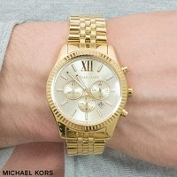 Bekijk de deal van Watch2day.nl: Michael Kors Lexington Chronographs