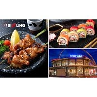 Bekijk de deal van Social Deal: All-You-Can-Eat & Drink (3 uur) sushi & wok + gratis parkeren