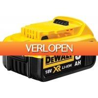 Gereedschapcentrum.nl: DeWalt DCB184 18V Li-Ion accu