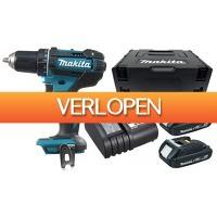 Gereedschapcentrum.nl: Makita accu klopboor-/schroefmachine set