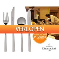ClickToBuy.nl: 6-persoons Villeroy en Boch Bestekset