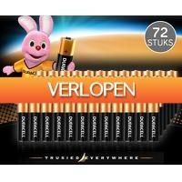 Voordeelvanger.nl 2: 72 stuks Duracell Batterijen