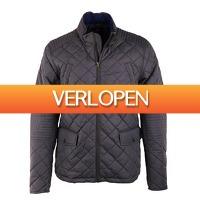 Suitableshop: Suitable Quilted Jacket Light grijs