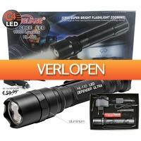 ClickToBuy.nl: HL-110 Ultra LED Flashlight Black Defender Series