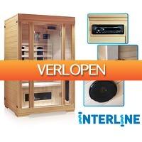 Voordeelvanger.nl: Interline Premium infrarood sauna