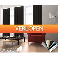 Voordeelvanger.nl: Larson verduisterende gordijnen