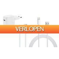 Groupon 2: Apple iPhone/iPad kabels + adapters vanaf 9,99 euro (tot 70% korting)