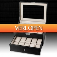 Watch2day.nl: Luxe 20-Slots collectors box | WB001