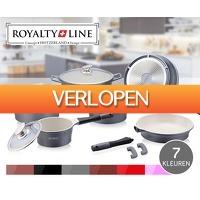 Voordeelvanger.nl: 14-delige Royalty Line pannenset