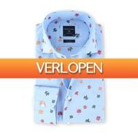 Suitableshop: Profuomo overhemd herfstblad
