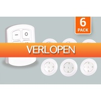 Marktplaats Aanbieding: 6 LED-spots met afstandsbediening