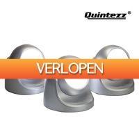 Koopjedeal.nl Home & Living: Set van 3 Draadloze Quintezz LED-spots met Bewegingssensor