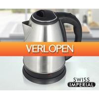 Koopjedeal.nl Home & Living: Swiss Imperial RVS Waterkoker
