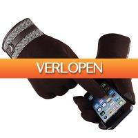 Koopjedeal.nl Elektronica: Warme Gevoerde Handschoenen met Touch-Functie