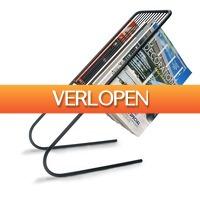 Gadgethouse.nl: J-me Zwevend Tijdschriftenrek - zwart