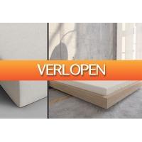 Outspot.nl: Set van 2 hoeslakens met elastiek