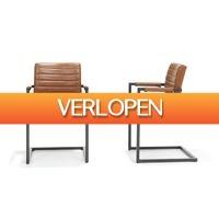 Outspot.nl: Set van 2 vintage industriele stoelen