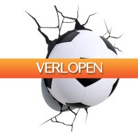 Gadgethouse.nl: 3D Lamp - Voetbal
