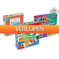 iBOOD.nl Extra: 3 Identity Games gezelschapsspellen