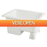 Sanitairwinkel.nl: Haceka Marinella voetzitbad