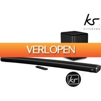 iBOOD.nl Extra: Kitsound Curved Soundbar + Subwoofer