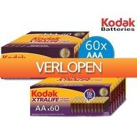iBOOD.nl Extra: 60 x Kodak Alkaline batterijen