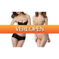 Groupon 1: Zelfklevende push-up BH