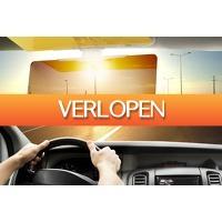 Marktplaats Aanbieding 3: Auto zonneklep tegen lichtschittering en -verblinding