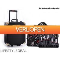 LifestyleDeal.nl: Complete 326-delige gereedschaptrolley