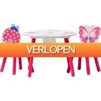 LifestyleDeal.nl: Kindersetje tafel + stoelen