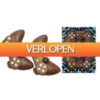 Groupon 1: 2 x chocolade Playstation-controller