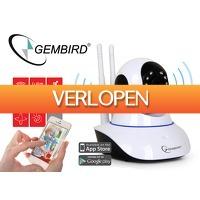 DealDonkey.com: Gembird draaibare Smart HD WiFi camera