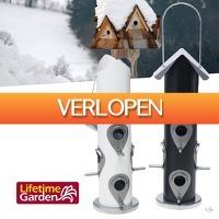 HelloSpecial.com: Veiling: wit design vogelvoederhotel