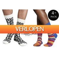 VoucherVandaag.nl: 6 paar Happy Socks