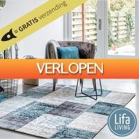 Euroknaller.nl: Lifa Living Cool Vintage vloerkleden