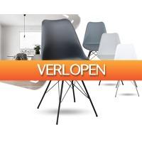 1DayFly: Comfortabele Wengen kuipstoel met metaal onderstel