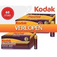 1DayFly: 60 x Kodak AA of AAA Xtralife alkaline batterijen