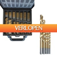 CheckDieDeal.nl: 101-delige borenset titanium coated