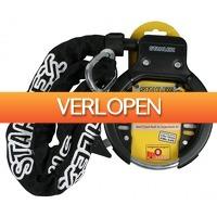 CheckDieDeal.nl: Frameslot, ringslot, fietsslot beugel + ketting - Stahlex