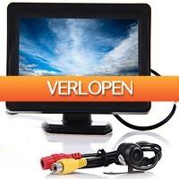 Uitbieden.nl: Achteruitrijcamera set met night vision en LCD display